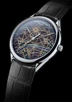 La Cote des Montres : Les montres Vacheron Constantin Métiers d'Art Villes Lumières - Les plus belles villes du monde vues du ciel