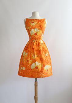 Vintage 1960's dress by Jacques Heim.  #vintagedress #xtabayvintage #jacquesheim