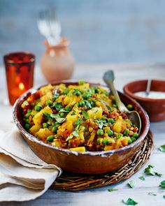 Chetna Makan's quick and healthy vegetarian curry recipe is packed with simple, warming flavours and is so comforting on a cold day.