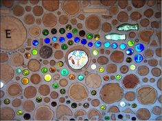 Cordwood and bottles