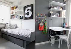 Baby boy room paint ideas pictures toddler wall art furniture gray boys home improvement winning engaging Grey Boys Rooms, Baby Boy Rooms, Boy Bedrooms, Kids Bedroom Designs, Kids Room Design, Boy Room Paint, Teenage Room, New Beds, Fashion Room