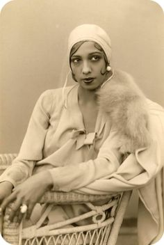 Josephine Baker-- peaced out and went to Paris to escape racist oppressive America in the 1920's. I think I'd figure out how to do the same thing.