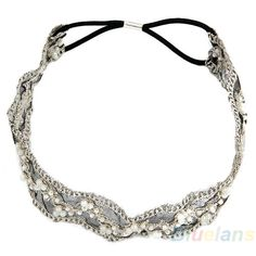 Damen Haarschmuck Spitze Perle Haare Kopf Band Stirnband Haarreif in Kleidung & Accessoires, Damen-Accessoires, Haarschmuck | eBay