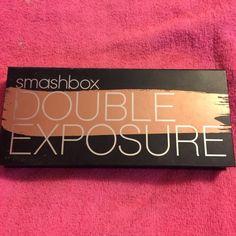 Smashbox double exposure eyeshadow palette. Smashbox double exposure palette. 3 colors used once. All other unused Smashbox Makeup Eyeshadow