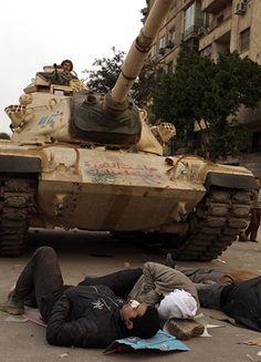Tanks - Tahrir square