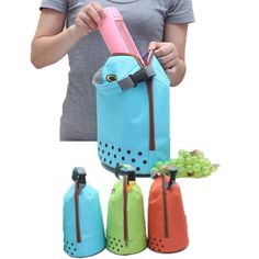 Portable Food Organizer insulated Waterproof Picnic Lunch Thermal Cooler Bag - FREE SHIPPING