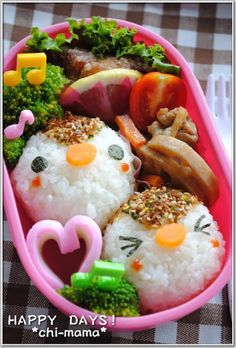 Sparrow bento #Japanese Bento Lunch