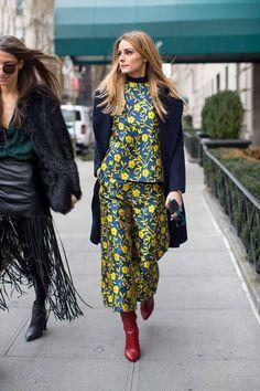 The Olivia Palermo Lookbook : NYFW : Olivia Palermo At Carolina Herrera