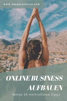 My 20 most important tips for self-employment - Theresa Ehsani , Personal Branding, Branding Your Business, Business Tips, Online Business, Affiliate Marketing, Online Marketing, Social Media Marketing, Influencer Marketing, Im Online