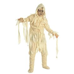 Costume Super Center Classic Mummy Halloween Costume - Child Size Small