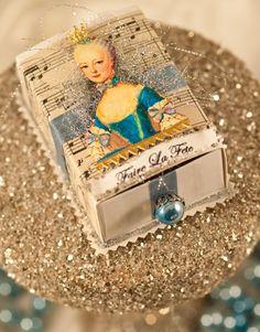 Marie Antoinette Trinket Box. Easy DIY