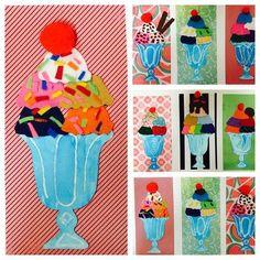 pop art Bildergebnis fr visuelle Bildung - So - art Summer Art Projects, School Art Projects, Art 2nd Grade, Club D'art, Pop Art, Classe D'art, Kindergarten Art, Art Lessons Elementary, Art Education Lessons