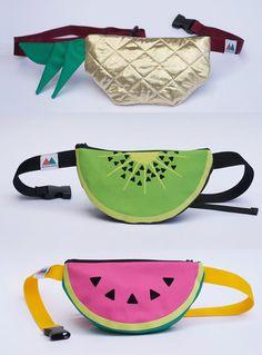 Watermelon / Kiwi / Pineapple Bumbag on Etsy, £25.00