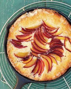 Plum Skillet Cake - Martha Stewart Recipes