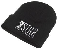 Star Labs Beanie http://www.ebay.com/itm/STAR-Laboratories-Embroidered-Black-Beanie-The-Flash-TV-Series-S-T-A-R-Labs-Fan-/181636164916?var=&hash=item2a4a5bed34:m:m9LsghwyWaT4IHxNCaFzskw