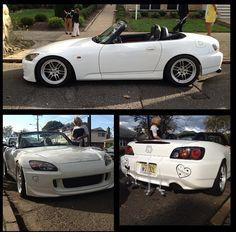 S200! #s2k #wedding #beachwedding #topdown #turbo #weddingtransportation #jerseyshore #car #honda #weddingdecorations