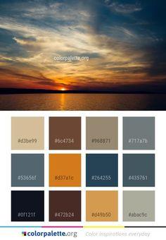 Paint Color Palettes, Paint Color Schemes, Fall Color Palette, Living Room Color Schemes, Colour Pallette, Paint Colors, Style Deco, Color Balance, Color Swatches