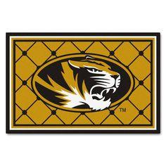 Collegiate Missouri Area Rug