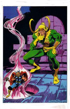 Loki by John Buscema
