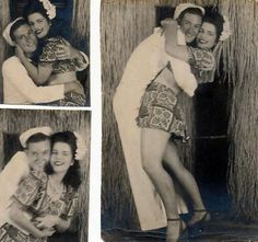 I totally need to do a similar photoshoot with my sailor. ;) #1940s #vintage
