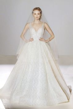 9 ball gown wedding dresses you are sure to love cinderella lazaro wedding dress style 3662 this dress almost makes me believe in fairy tales again junglespirit Choice Image