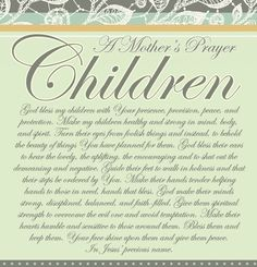 Love this! Share, print, and read over your children. discipleland