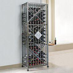 Personalized SoHo 96 Bottle Wine Jail at Wine Enthusiast - $499.00