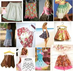 Twirl Skirt patterns