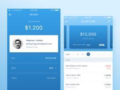 Mobile Banking App by Anggit Yuniar Pradito #Design Popular #Dribbble #shots