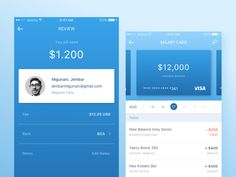 Mobile Banking App by Anggit Yuniar Pradito #Design Popular #Dribbble #shots