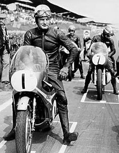 "Another motorcycle movie is in the works, this one ""Mike the Bike"" named after the nickname given to Mike Hailwood, ten time World Champion, where between 1961 and 1967, he sometimes wo…"