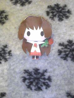 Ib Chibi Papercraft by RinNeko-Nyan