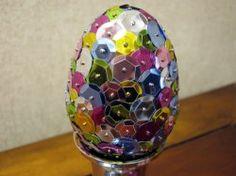 Snazzy Sequin egg...tutorial