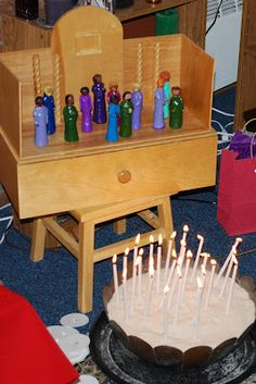 On our last Sunday of Christian Formation before summer break we celebrated Pentecost in the atrium. Pentecost is a wonderful feast o. Good Shepard, The Good Shepherd, Receiving The Holy Spirit, Day Of Pentecost, Godly Play, Vacation Bible School, Stories For Kids, Votive Candles, Activities For Kids
