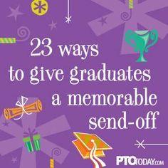 23 Ideas for Elementary School Graduation