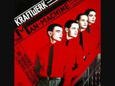 Kraftwerk - The Man-Machine (Full Album). My parents had this LP and I remember listening to it, thinking it was SO beyond awesome. No surprise I now have the cd album then, eh? You have to be able to appreciate old school electronica to like this, I think, but I think it's still amazing.