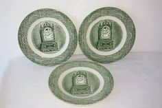 The Old Curiosity Shop set of 3 bread and butter plates