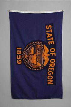 Vintage Oregon State Flag