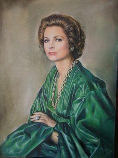 Portrait of Princess Grace of Monaco