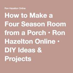 1000 Ideas About Four Seasons Room On Pinterest Sunroom