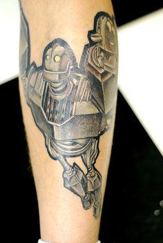 Iron Giant tattoo