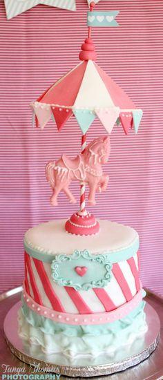 Carousel Cake by Marlise Ross Cake