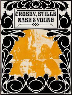 Crosby, Stills, Nash & Young (Woodstock Program)