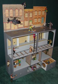 Build Your Own Superhero Doll House