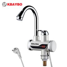 Family Appliances 3000W Electric Water Heater Kitchen Faucet electric instant water heater tap Cold Hot Dual-Use