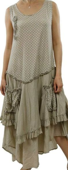 Ideas Shabby Chic Clothes Style Casual Outfit For 2019 Shabby Chic Outfits, Boho Outfits, Pretty Outfits, Dress Outfits, Fashion Outfits, Shabby Chic Clothing, Maxi Dresses, Casual Outfits, Altered Couture