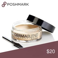 Dermablend Cover Creme Foundation - warm ivory 100% Authentic. New/unused. The ultimate full coverage cream foundation. Whether it's a news anchor's scar or a volleyball player's vitiligo, cover creme provides reliable, flawless, and full camouflage in a velvety smooth finish. Dermablend Makeup Foundation
