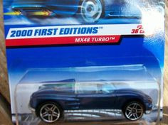HOT WHEELS 2000 FIRST EDITIONS # 20  MX48  TURBO  FREE SHIPPING!!