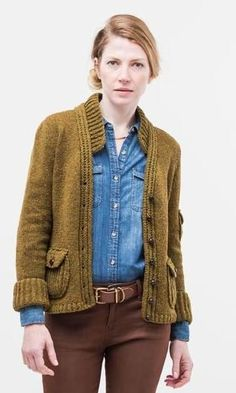 605869a5182a  ClippedOnIssuu from Brooklyn Tweed Winter 15 Lookbook Loving this and the  collar!