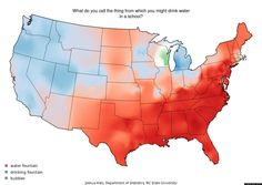 LOOK: These Maps Debating 'Soda' And 'Pop' Have Basically Set The Internet On Fire